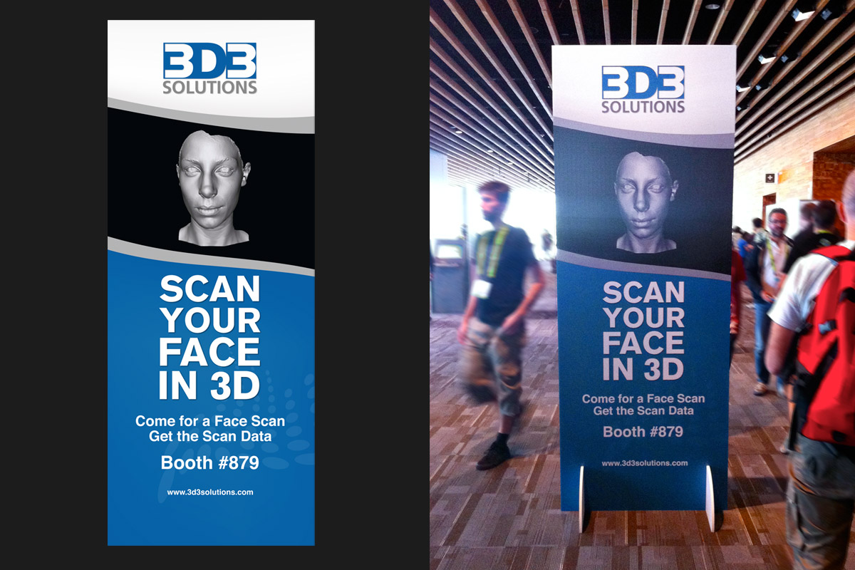 3D3 Solutions Tradeshow Signage