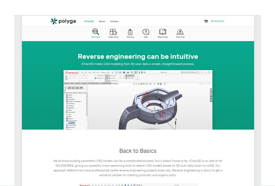 Polyga Overview Page